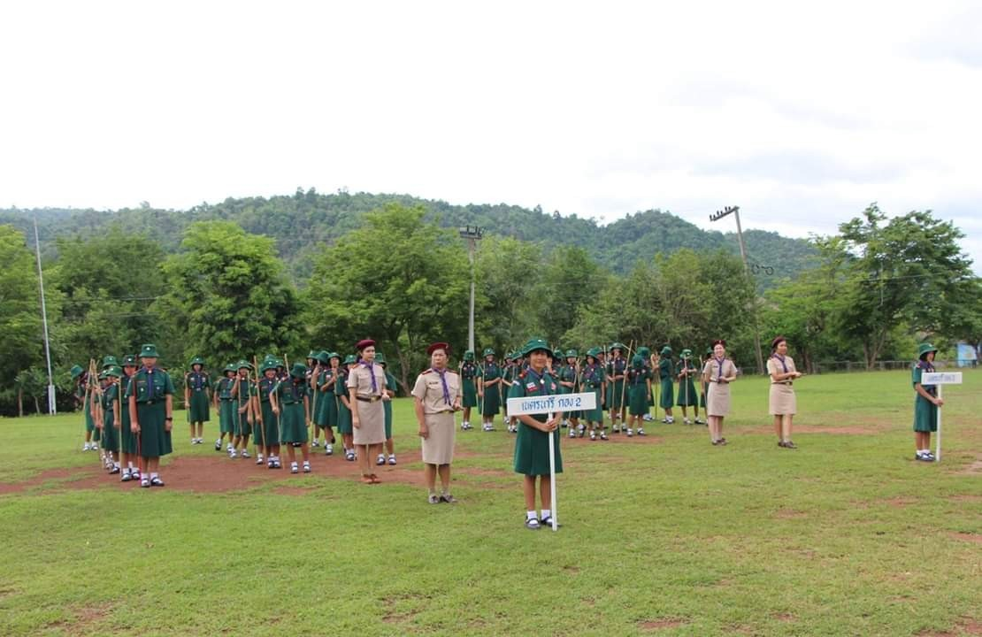 พิธีทบทวนคำปฏิญาณและสวนสนาม ประจำปีการศึกษา 2562